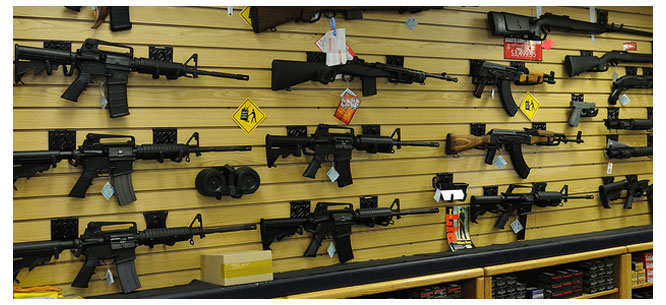 a report on americas control on guns High-profile mass shootings in the united states in recent years have rekindled the gun control debate and  us gun policy: global comparisons  owned guns, according to a report by.