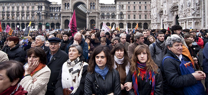 Bildergebnis für against ndrangheta protests