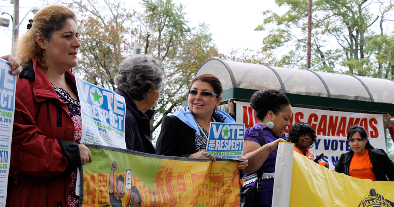Brentwood, Long Island voting rights demonstration, 2011