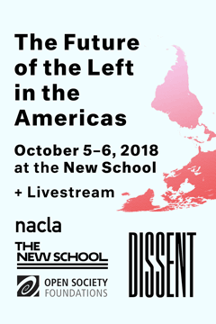 The Future of the Left in the Americas | October 5–6, 2018