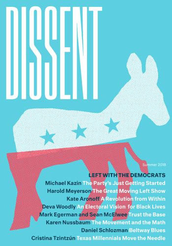Dissent Summer 2018 Front Cover
