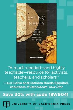 Eating NAFTA | University of California Press
