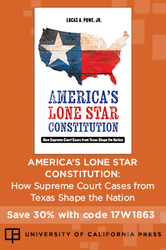 America's Lone Star Constitution | University of California Press