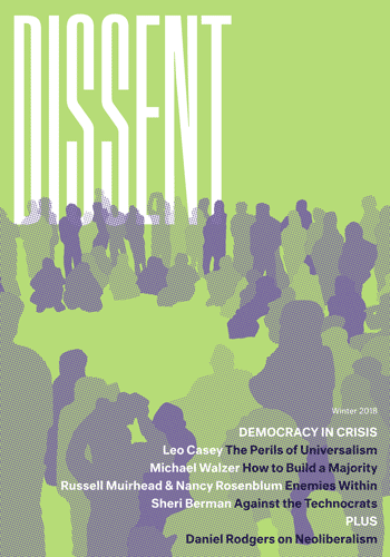 Dissent Winter 2018 Front Cover
