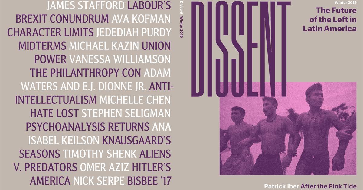 Winter 2019 | Dissent Magazine
