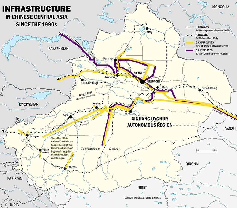 Recent economic development in the Xinjiang Uyghur Autonomous Region (Darren Byler)