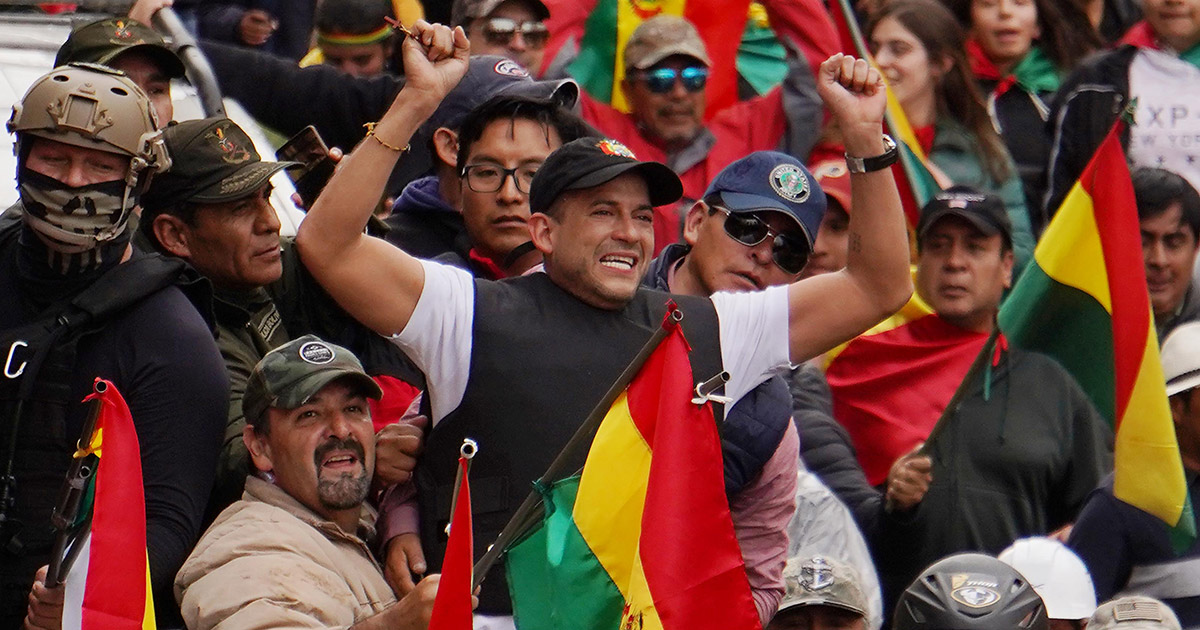 The Roots Of The Right Wing Coup In Bolivia